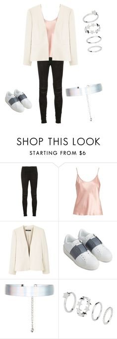 """""""Untitled #188"""" by adellolita on Polyvore featuring Yves Saint Laurent, La Perla, MANGO, Valentino and Accessorize"""