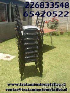 sillas mesas camas camarotes 226833548 - 965420522 - 966386028  Sillas Apilables, de tubo de acero con pintura electr ..  http://cerrillos.evisos.cl/sillas-mesas-camas-camarotes-226833548-965420522-966386028-id-614357