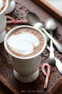 Skinny Vanilla-Peppermint Mocha Lattes by aneadiblemosaic #Latte #Peppermint #Vanilla #Skinny