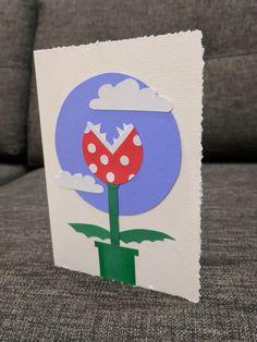 Piranha Plant birthday card