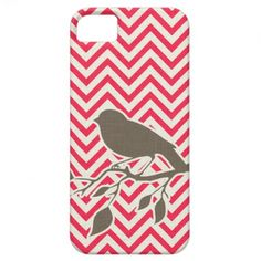 Bird & Chevron iPhone Case iPhone 5 Covers