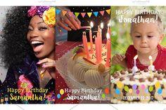 9 Happy Birthday Snapchat filters by CreativeToons on @creativemarket