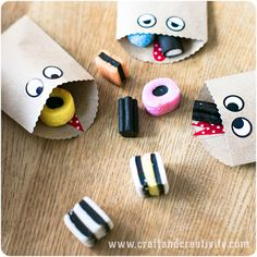 Monsterpåsar – Monster bags - Craft & Creativity
