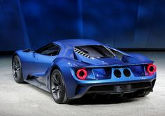 The Ford GT, which goes into production in 2016 at the Detroit Motor Show