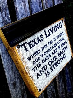 Texas Living Wood Block Sign by DesignsBySyds on Etsy Texas Texans, Texas Bbq, Eyes Of Texas, Only In Texas, Republic Of Texas, Texas Forever, Loving Texas, Texas Pride, Lone Star State