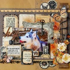layout scrapbook - Google Search