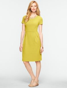 Talbots - Corded Tulip Dress | New Arrivals | Misses Discover your new look at Talbots. Shop our Corded Tulip Dress for stylish clothing and accessories with a modern twist at Talbots