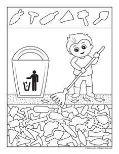 Earth Day Clean Up Versteckte Bilder Preschool Learning, Kindergarten Activities, Classroom Activities, Earth Day Activities, Activities For Kids, Hidden Pictures Printables, Hidden Picture Puzzles, Poetry For Kids, Earth Day Crafts