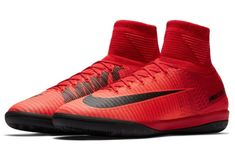 281ecaf4b Nike Mercurial X Proximo II DF IC Mens Soccer Shoes 11.5 Red Black 831976  616  Nike