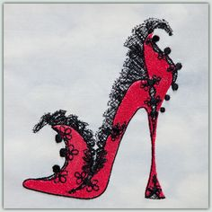 BFC-Creations Sally King's New Shoes Machine Embroidery  As always Sally's Shoes are delightful. From Maleficent's Shoe for those that love Disney movies, to the Stained Glass Slipper - this set will delight all Shoe lovers! Designs Free Designs