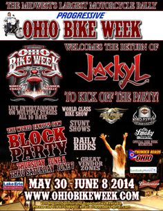 OHIO BIKE WEEK   GOING ON NOW until June 8  **VIDEOS and More Info at http://www.lightningcustoms.com/ohio-bikeweek.html **Official Site at http://ohiobikeweek.com/  #OhioBikeWeek #BikeWeek