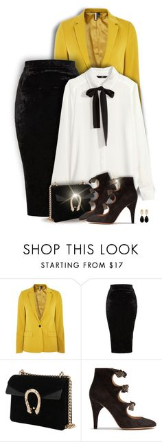 """""""From day to night"""" by kiki-bi ❤ liked on Polyvore featuring Topshop, TFNC, Chloé and Carousel Jewels"""
