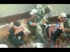 """Terroristas """"moderados"""" fazendo interrogatório """"moderado"""" na Síria +18"""
