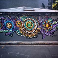 José Flavio Audi  ~ Depois de 5 anos essa pintura continua na Austrália !! After 5 years still in Austrália
