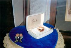 Edouard Beaupre's ring and bottle opener @ the Willow Bunch Museum, Saskatchewan, CA.