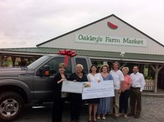 On August 12, we gathered at Oakley's Farm Market to receive MFB's latest gift: a Ford pick-up truck for use in our Farm to Food Bank program, courtesy of the Arthur W. Perdue and Richard A Henson foundations. This generous donation will help our farm partners feed even more people across the state: https://www.mdfoodbank.org/our-programs/farm-to-food-bank/
