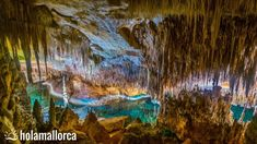 Coves del Drac   Drachenhöhle   Porto Cristo   Mallorca   Höhle   Unterirdischer See   Musik Hotel Am Strand, Hotel Mallorca, Cultural Experience, Turquoise Water, Best Cities, Night Life, Traveling By Yourself, Places To Visit, Around The Worlds