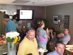 Cafe Delish and Miller's Central Air open house for Palm Beach Business Associates