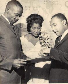 Mahalia Jackson sang at JFK's inauguration and MLK's funeral.