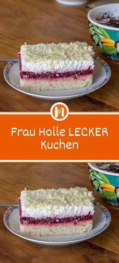 Holle DELICIOUS cake- Frau Holle LECKER Kuchen Ingredients 3 cup / s flour 4 egg (s) 2 cup / s sugar cup oil, (sunflower oil) 1 cup mineral water, carbonated 3 tsp baking powder 500 g strawberries 2 tbsp. Berry Smoothie Recipe, Easy Smoothie Recipes, Easy Smoothies, Pastry Recipes, Tart Recipes, Snack Recipes, Coconut Milk Smoothie, Homemade Frappuccino, Grilled Fruit