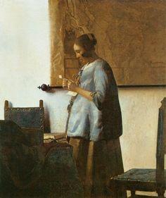 The Letter - Vermeer