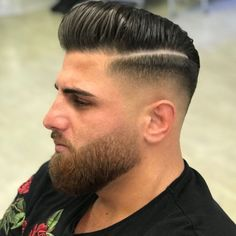 💈 💀 - Beard Tips Beard Fade, Beard Look, Sexy Beard, Long Beard Styles, Beard Styles For Men, Hair And Beard Styles, Mens Hairstyles With Beard, Undercut Hairstyles, Haircuts For Men