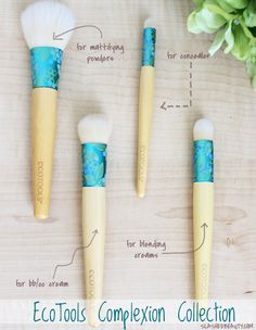 REVIEW: EcoTools Complexion Collection | Slashed Beauty