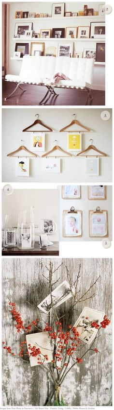 10 Creative Ways to Display Photos and Art | Creature ComfortsCreature Comforts
