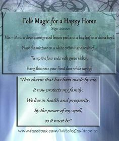 Happy home spell