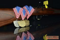Medals: Rimfire achievement medals are awarded to competitors that fire scores within the established bronze, silver and gold cut-scores.