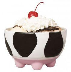Udderly Cows Ice Cream Bowl