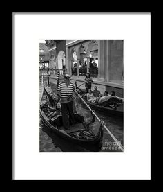 2013 Framed Print featuring the photograph Faux Venice Las Vegas 2013 by Edward Fielding