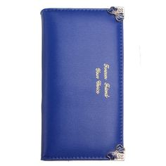 Color  Black,Blue    Material  PU Leather    Detailed Size  Height 19 cm(7.52'') Length 9.3cm(3.66'') Width 2.5cm(0.98'')    Structure  4 Checkbook 11 Card Slot,1 Photo Slot       Package Included: 1 * Wallet