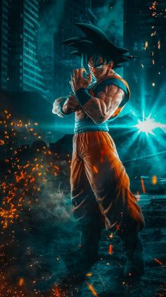 Goku Jump Force wallpaper by EricScamander - 77 - Free on ZEDGE™ Dragon Ball Image, Dragon Ball Gt, Wallpaper Do Goku, Black Wallpaper, Foto Do Goku, Dbz Wallpapers, Wallpaper Naruto Shippuden, Monkey D Luffy, Suit