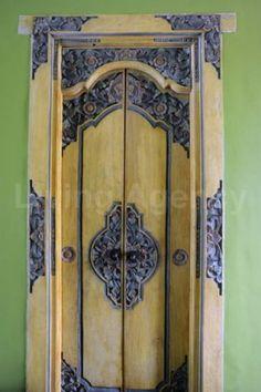 Bali residential door