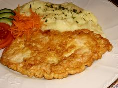 Czech Recipes, Ethnic Recipes, Lasagna, Ham, Mashed Potatoes, Cauliflower, Food And Drink, Chicken, Vegetables