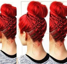 35 Braided Buns Re-inventing the Classic Style