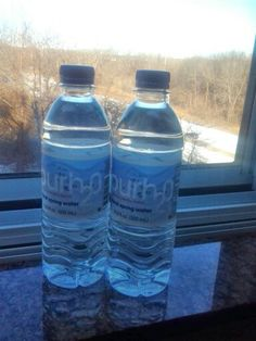 Purh20 natural spring water at the Hilton Hotel, Albany / Shaker Rd, Albany.