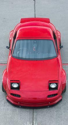 RCC Mazda Rocket-Bunny by Paddy McGrath - automobil Weird Cars, Crazy Cars, Mazda Mx3, Mk3 Supra, Japanese Cars, Hot Cars, Custom Cars, Dream Cars, Super Cars