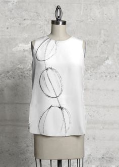 WATER DROPS, Sleeveless top. This has been so far the best selling top...