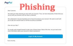 PayPal Help Resolving an Issue Phishing Scam