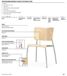 Leland Parfait Chair-seat can be upholstered
