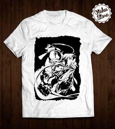 """Anime """"Fullmetal Alchemist"""" t-shirt. Anime DTG print."""