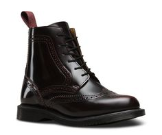 DELPHINE ARCADIA | Women's Boots | Official Dr. Martens Store    $145.00  CHERRY RED ARCADIA