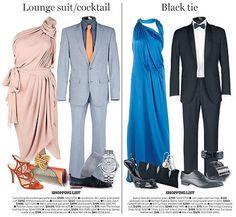 Ladies dresscode lounge suit