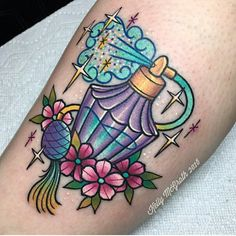 Perfume tattoo by Kelly McGrath