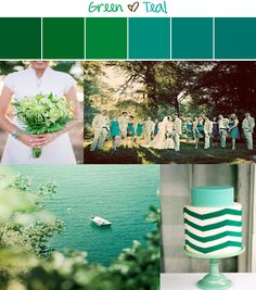 green-and-teal-inspiration-board