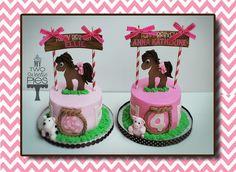 horse cakes for girls birthday | Horse theme birthday party