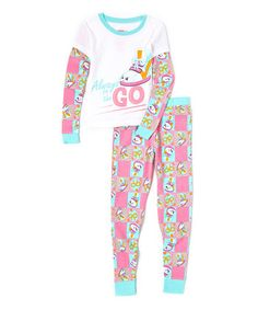 Shopkins™ Sneaky Wedge Pajama Set - Girls