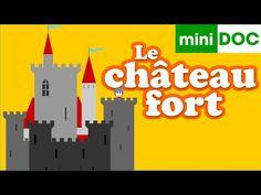 CHÂTEAU FORT CHEVALIERS et PRINCESSE mini documentaire pour maternelles - la récré des ptits loups - YouTube